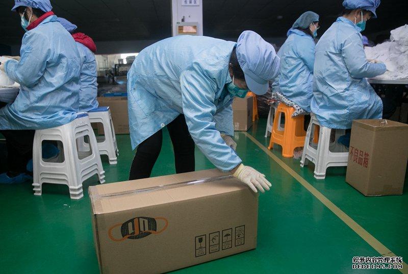 上海:抓紧口罩生产 全力增加供应